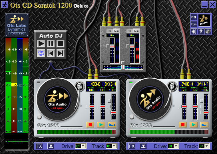 Ots CD Scratch 1200 Free Screen shot